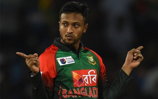 Shakib Al Hasan of Bangladesh. (Photo Source: Twitter)