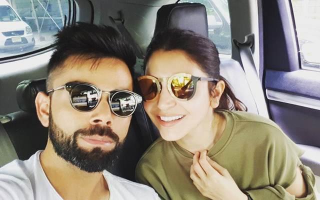 Virat Kohli and Anushka Sharma (Photo Source: Twitter)