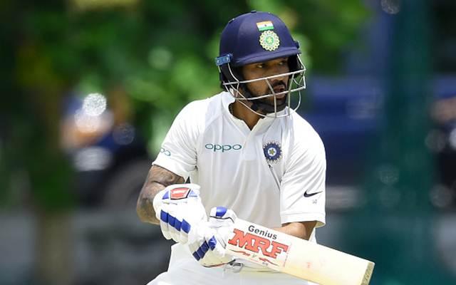 Indian cricketer Shikhar Dhawan. (Photo by ISHARA S. KODIKARA/AFP/Getty Images)