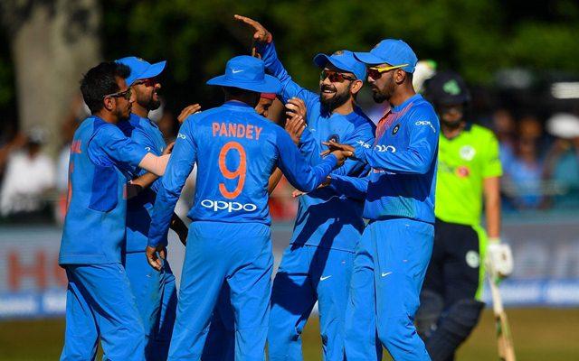 Team India in Ireland. (Photo Source: Twitter)