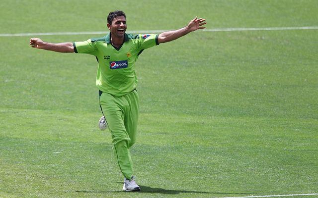 Abdul Razzaq of Pakistan. (Photo by Hagen Hopkins/Getty Images)