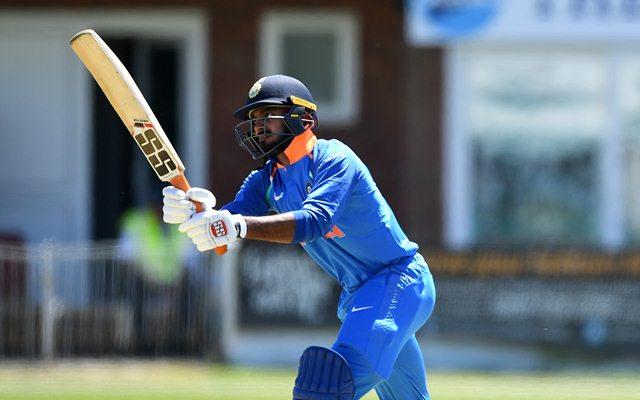 Vijay Shankar (Photo by Gareth Copley/Getty Images)