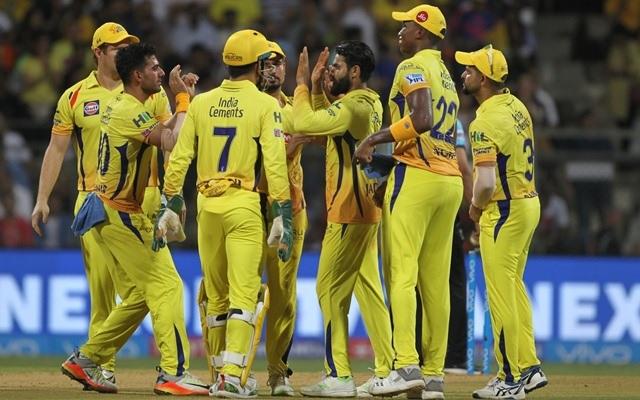 IPL 2018 champions Chennai Super Kings. (Photo by Surjeet Yadav/IANS)