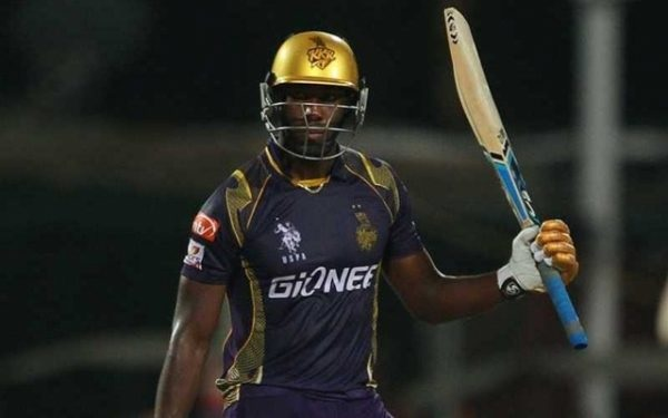 Andre Russel of KKR. (Photo Source: Twitter)