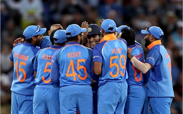 Indian team. (Photo by Hannah Peters/Getty Images)