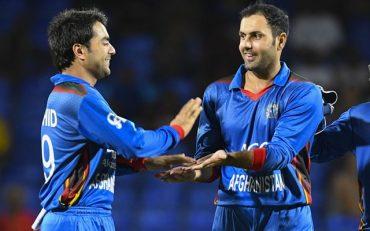 Rashid Khan and Mohammad Nabi