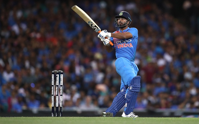 Rishabh Pant. (Photo by Ryan Pierse/Getty Images)