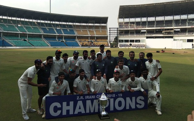 Vidarbha team. (Photo Source: Twitter)