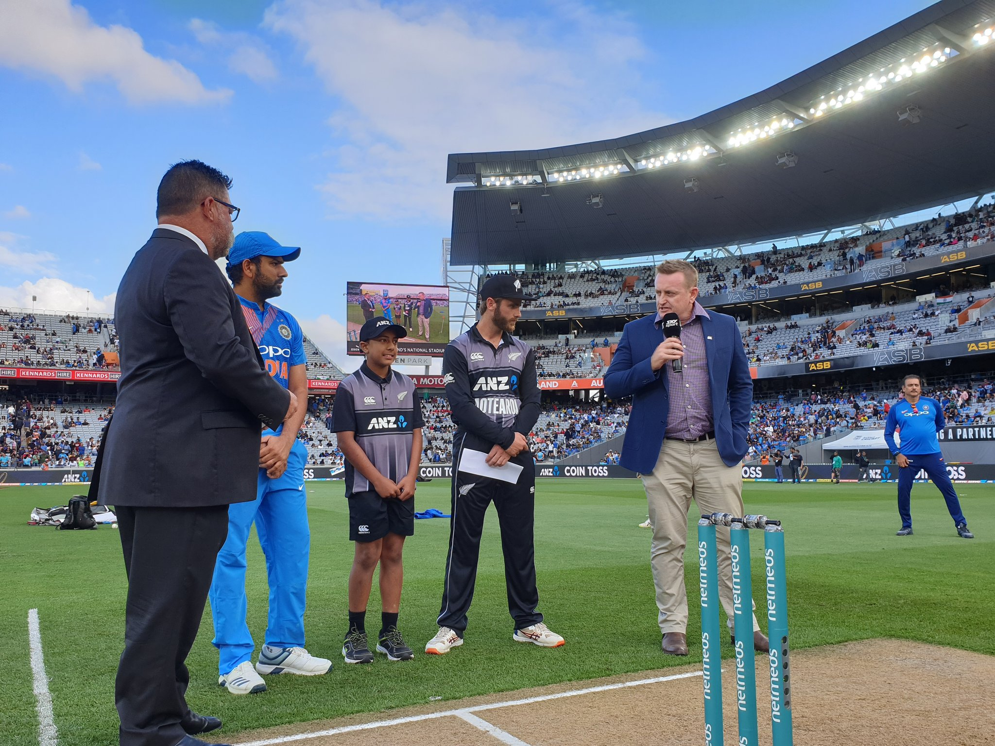 rohit sharma during toss ( image source: twitter)