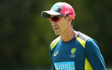 Justin Langer. (Photo by Jason McCawley/Getty Images)
