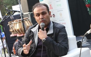 Former Indian cricketer Virender Sehwag. (Photo by Prabhas Roy/Hindustan Times via Getty Images)