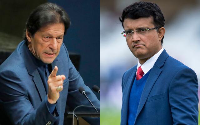 Imran Khan and Sourav Ganguly