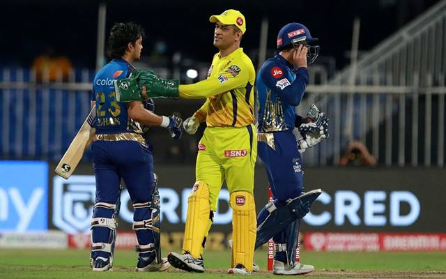 Mumbai Indians vs Chennai Super Kings. (Photo Source: IPL/BCCI)