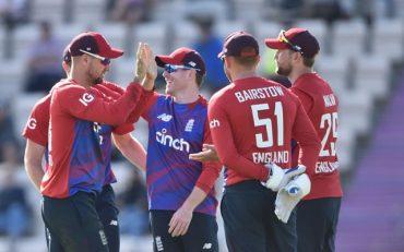 England cricket team. (Photo by Nathan Stirk - ECB/ECB via Getty Images)