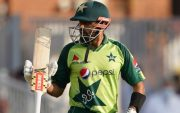 Babar Azam. (Photo by Zac Goodwin/PA Images via Getty Images)