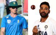 Dale Steyn and Mohammed Siraj. (Photo Source: Twitter & Getty Images)