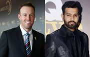 AB de Villiers and Rohit Sharma. (Photo Source: Getty Images)