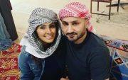 Harbhajan Singh and Geeta Basra. (Photo Source: Twitter)