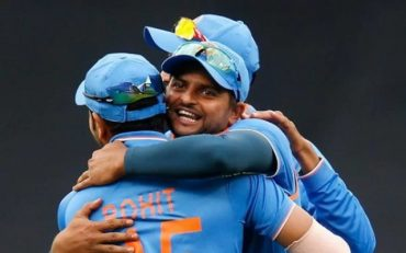 Suresh Raina. (Photo by Darrian Traynor/Getty Images)