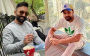 Dinesh Karthik and Rohit Sharma. (Photo Source: Instagram)