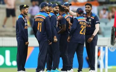 Team India. (Photo by Mark Kolbe/Getty Images)