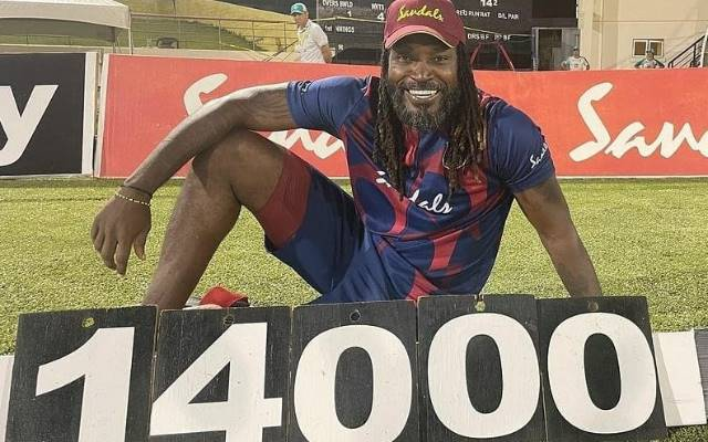 Chris Gayle. (Photo Source: Twitter)