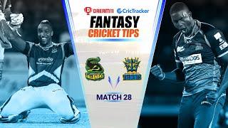CPL 2020 Dream11 Tips | Match 28 - Jamaica Tallawahs vs Barbados Tridents Dream11 | CricTracker