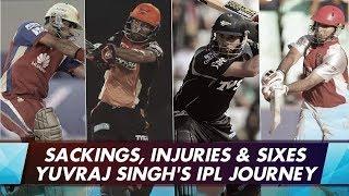 Yuvraj Singh's IPL journey
