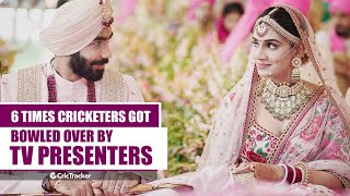 6 Cricketers Who Married Sports Anchors | Sports Anchors And Cricketers Love Story