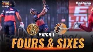 Match 1- Maratha Arabians vs Northern Warriors, Fours & Sixes, Abu Dhabi T10 Leauge 2021