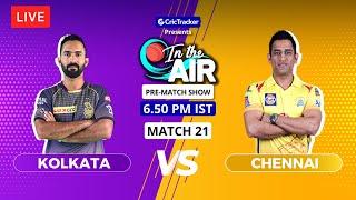 Kolkata v Chennai - Pre-Match Show - In the Air - Indian T20 League Match 21