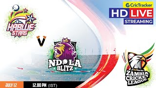 Zambia T10 League Live Streaming, Qualifier, Ndola Blitz vs Kabwe Stars