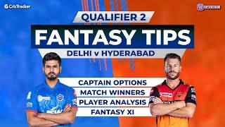 Delhi vs Hyderabad - Qualifier 2, 11Wickets Fantasy Cricket Tips, Indian T20 League