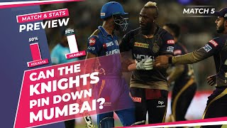 Indian T20 League - Kolkata vs Mumbai, Winner Prediction, Predicted XI, Stats, CricTracker