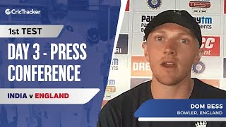 Rishabh Pant Is A Completely Different Player: Dom Bess, Press Conference, IND vs ENG First Test