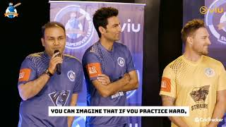 Virender Sehwag shares his experience on Virtual Reality Cricket game | iB Cricket