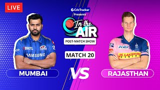 Mumbai v Rajasthan - Post-Match Show - In the Air - Indian T20 League Match 20