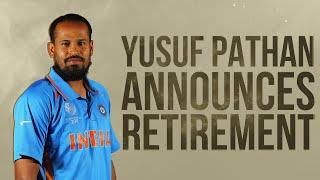 Indian Cricketer Yusuf Pathan Announces Retirement From All Forms Of Cricket