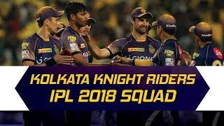 IPL 2018: Kolkata Knight Riders updated squad