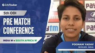 India's Spin Attack Not Up To Mark In The ODI Series: Poonam Yadav, Press Conference IND W vs SA W