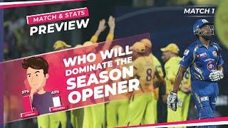 Indian T20 League | Mumbai vs Chennai | Winner Prediction, Predicted XI, Stats | CricTracker
