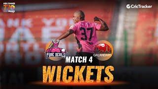Match 4 - Pune Devils vs Qalandars, Fall Of Wickets, Abu Dhabi T10 League 2021