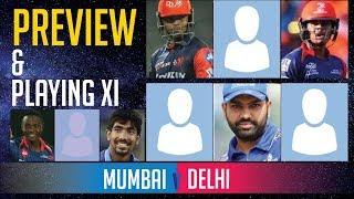 Indian T20 League, Match 3, Mumbai vs Delhi - Deep Dasgupta | Fantasy XI, Stats & Playing XIs
