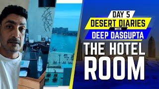 IPL 2020: Day 5 - Full Room Tour | Desert Diaries with Deep Dasgupta | CricTracker