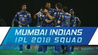 IPL 2018: Mumbai Indians updated squad