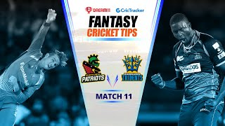 CPL 2020 Dream11 Tips | Match 11 - Barbados Tridents vs St Kitts & Nevis  Dream11 | CricTracker