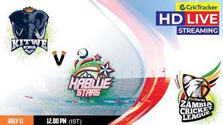 Zambia T10 League Live Streaming, Match 9, Kitwe Kings vs Kabwe Stars