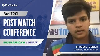 Will Work On Fitness To Break Into ODI Side: Shafali Verma, Press Conference, IND W vs SA W