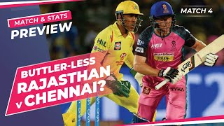 Indian T20 League - Rajasthan vs Chennai, Winner Prediction, Predicted XI, Stats, CricTracker