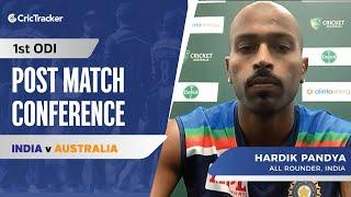 Hardik Pandya Reveals When He Will Start Bowling, Post Match Press Conference, AUS vs IND 1st ODI